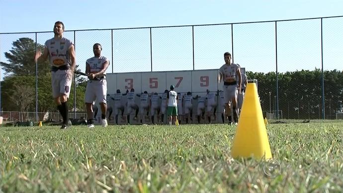 Rio Preto, treino, Copa Paulista (Foto: Reprodução/ TV TEM)