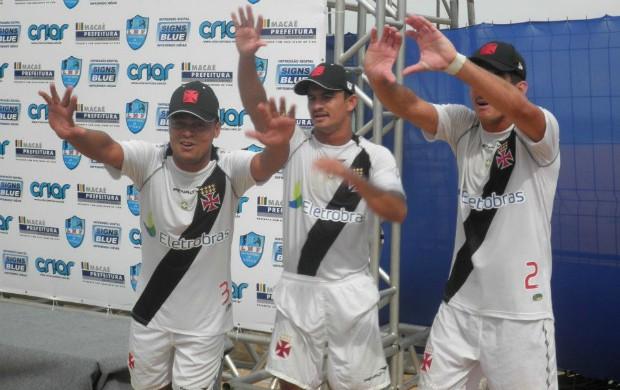 Vasco etapa de Macaé da Liga Nacional de Futevôlei (Foto: Divulgação / LNF)