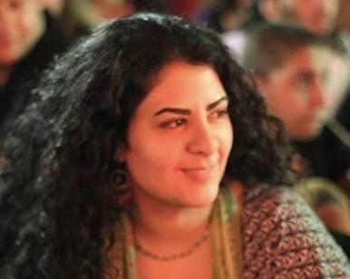 A musicista de 30 anos vai continuar participando dos protestos em Cairo (Foto: Arquivo Pessoal)