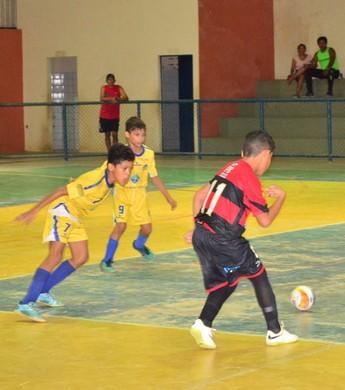 Roraimense de Futsal Sub-9 (Foto: Nailson Wapichana)