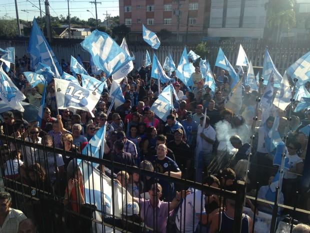 Eleições 2016 Canoas Luiz Carlos Busato (Foto: Roberta Salinet/RBS TV)