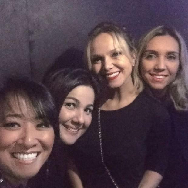 Eliana com amigas (Foto: Reprodução/Instagram)