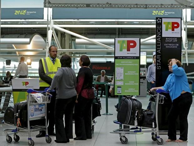 Greve afeta voos da portuguesa TAP (Foto: Reuters)
