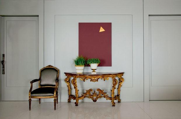 decoracao interiores hall entrada:Decoração convidativa no hall de entrada – Casa Vogue