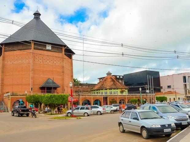 Da sua cidade de Cruzeiro do Sul, Ismael Medeiros destacou a Catedral Nossa Senhora da Glória, um dos pontos turísticos da segunda maior cidade do estado (Foto: Ismael Medeiros/ Arquivo pessoal )