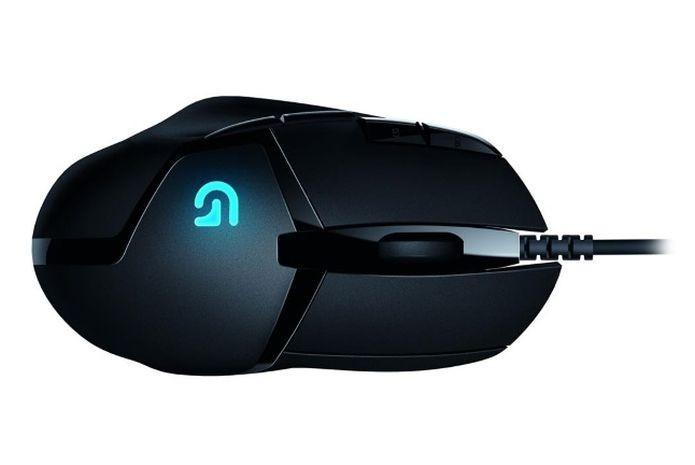 Visão superior do G402 Hyperion Fury  Ultra-Fast FPS Gaming Mouse (Foto: Divulgação)