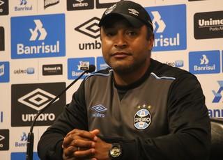 Roger Machado, técnico do Grêmio (Foto: Eduardo Deconto)
