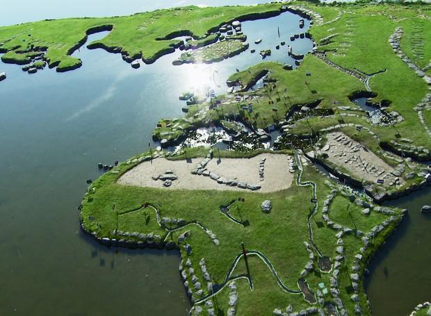 Parque Mapa do Mundo (Foto: Reprodução)