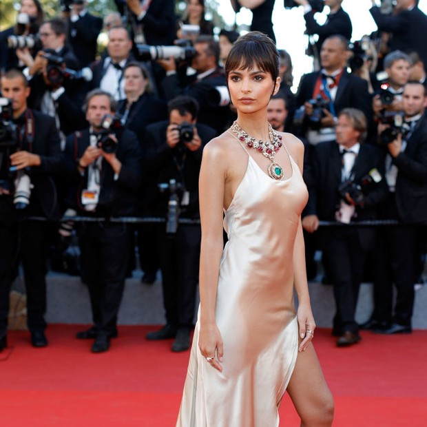Emily Ratajkowski Cannes 2017 (Foto: Getty Images)