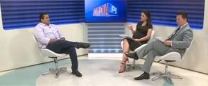 Telejornal discute sobre o crescimento e ações de combate dos casos de microcefalia no Piauí; Veja! (frame)