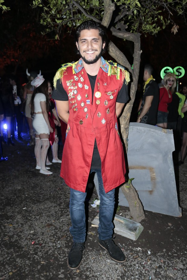 Bruno Gissoni em festa em São Paulo (Foto: Rafael Cusato/ Brazil News)