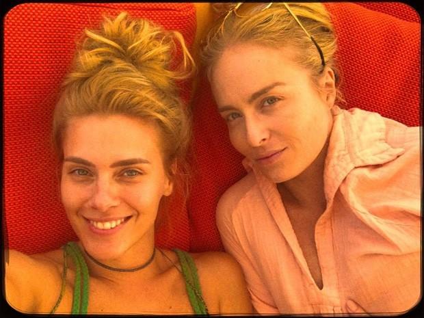 Carolina Dieckmann e Angélica (Foto: Reprodução / Instagram)