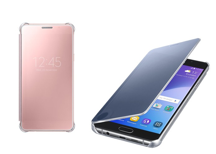 Capa Clear View para Galaxy A5 e A7 tem tampa que exibe informações da tela (Foto: Divulgação/Samsung)