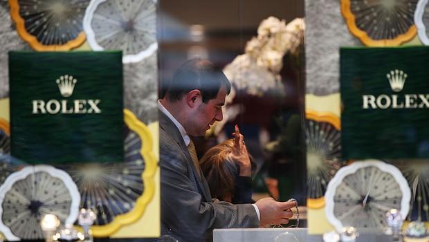 Loja da Rolex (Foto: Spencer Platt/Getty Images)