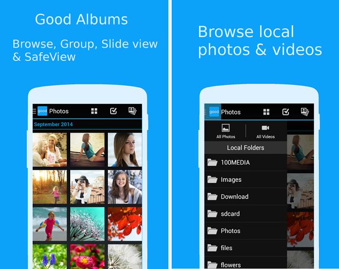 Good Albums é um organizador de fotos para Android (Foto: Divulgação)