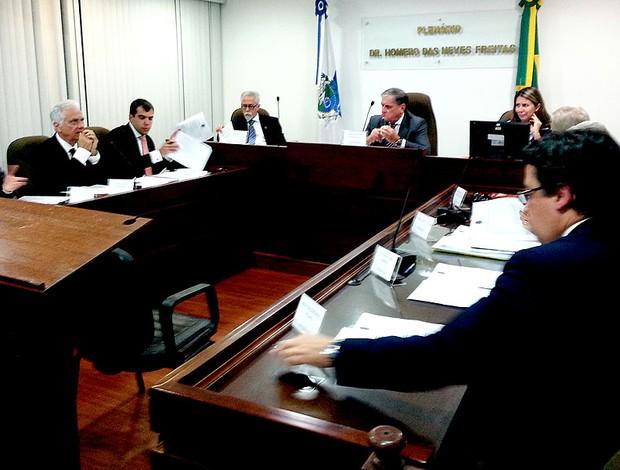 Carlos Alberto julgamento doping (Foto: Gustavo Rotstein)