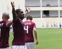 Jonatas Obina divide gol com elenco e desconversa sobre futuro na AFE
