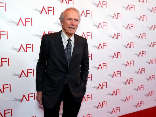Clint Eastwood em premiação em Los Angeles, nos Estados Unidos (Foto: Mario Anzuoni/ Reuters)