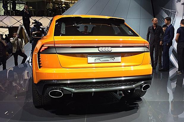 Audi Q8 Sport Concept (Foto: Tereza Consiglio/Autoesporte)
