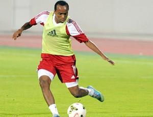 Marion treina com o Sharjah (Foto: Divulgação \Sharjah)