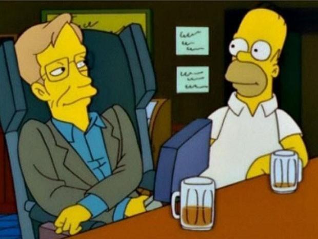 Stephen Hawking participa de 'Os Simpsons' (Foto: Divulgação)
