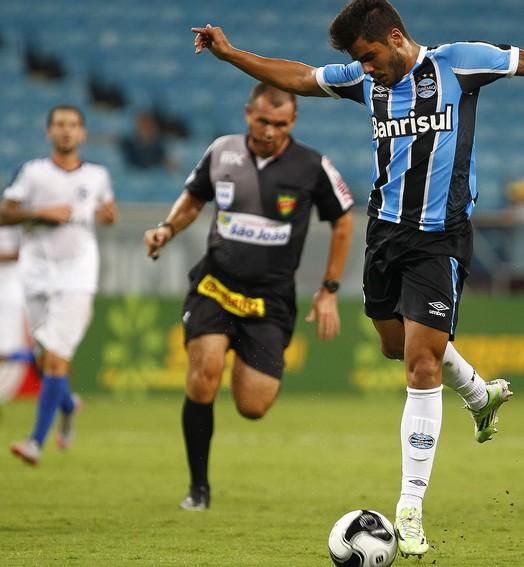 os primeiros (Lucas Uebel / Grêmio / Divulgação)
