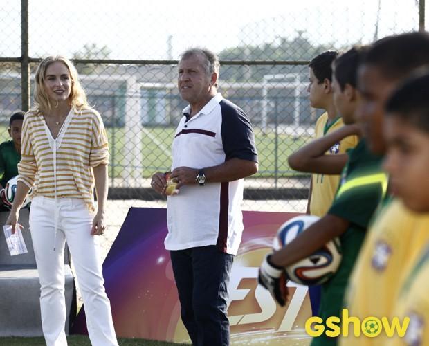 Angélica entrevista Zico (Foto: TV Globo/Inácio Moraes)