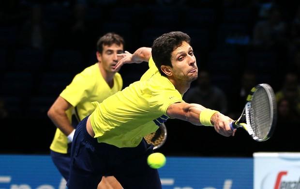 Marcelo Melo e Ivan Dodig duplas tênis ATP Finals (Foto: AP)