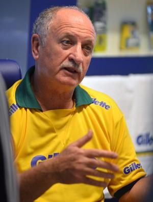 Felipão Scolari técnico seleção brasil entrevista (Foto: André Durão)