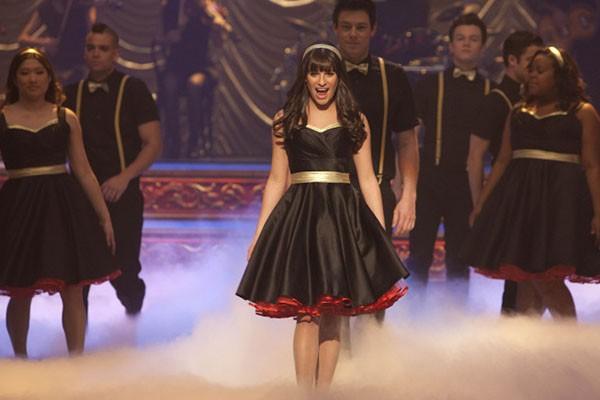 Lea Michele em Glee (Foto: Divulgação)