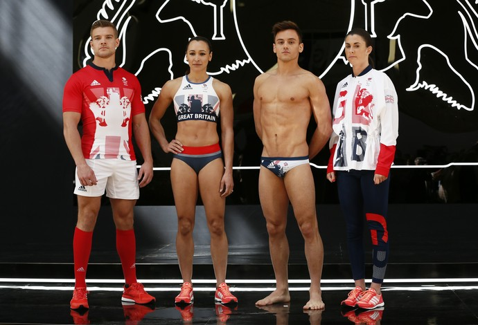 Uniformes da Grã-Bretanha para Olimpíadas do Rio 2016 (Foto: Reuters / Stefan Wermuth)