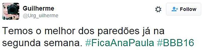 post paredão ana paula e laércio (Foto: Reprodução Internet)