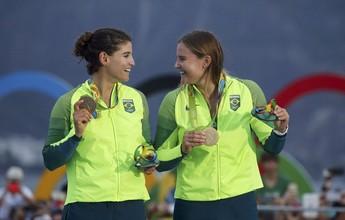 Martine Grael e Kahena são indicadas ao prêmio de melhores do ano na Vela
