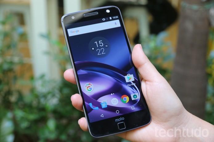 Moto Z recebe atualização para o Android 7.0 Nougat no Brasil (Foto: Aline Batista/TechTudo)