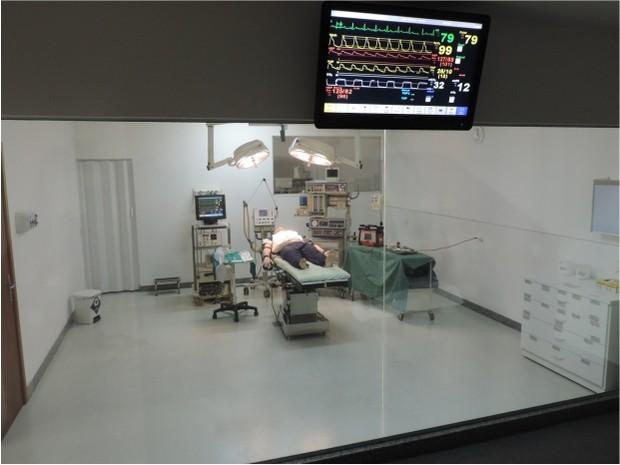 Laboratório de simulação realística (Foto: Divulgação/ Gisele Simões)