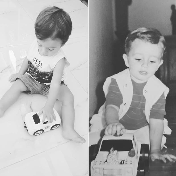 Rocco e Felipe Andreoli (Foto: Reprodução Instagram)