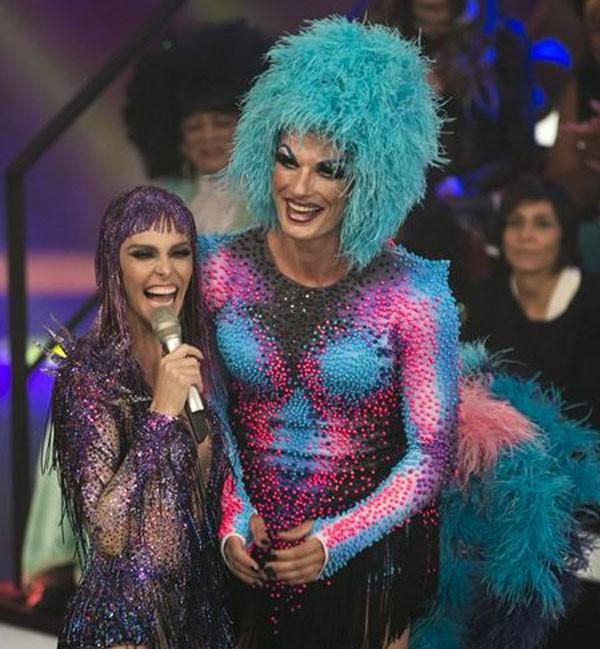 Se veste de drag no programa da mulher  (Foto: Reprodução Instagram )