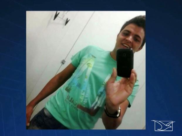 Leandro da Silva Carvalho foi morto a tiros por mototaxista em Caxias (Foto: Reprodução/TV Mirante)