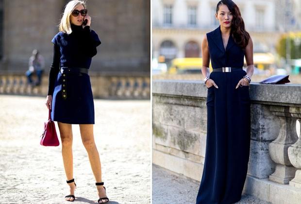 Os vestidos mais formais podem ficar mais charmosos se marcados na cintura (Foto: Imaxtree)