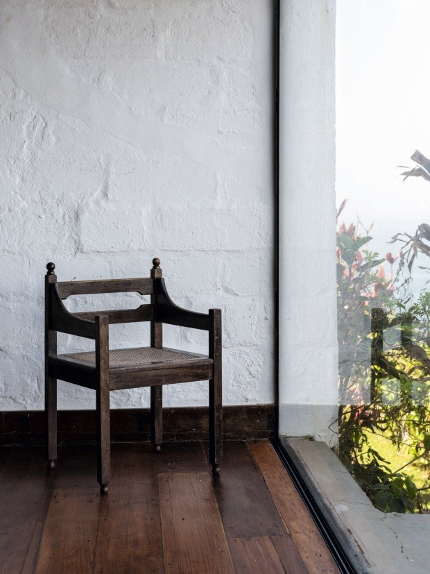 Por dentro da casa onde viveu José Zanine Caldas (Foto: Fran Parente)