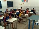 Alunos de escola pública fazem rifa para comprar papel em Teresina