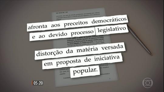 Luiz Fux manda que Senado devolva para a Câmara pacote anticorrupção