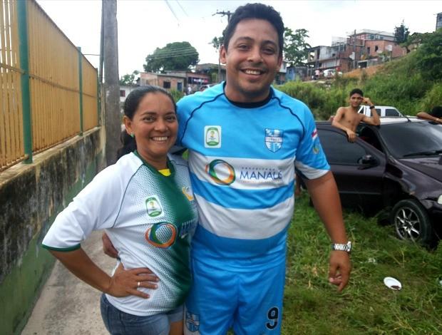 Técnica de futebol do Amazonas Elcimar (Foto: Nathália Silveira/Semdej)