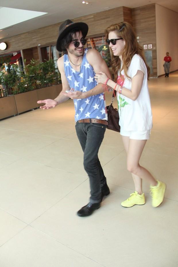 Sophia Abrahão e Fiuk (Foto: Rogerio Fidalgo / AGNews)
