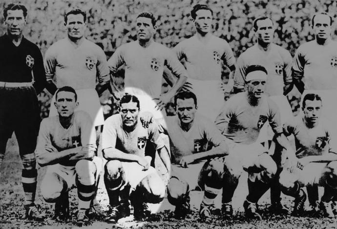 Copa do Mundo 1934 - Giuseppe Meazza Itália (Foto: Getty Images)