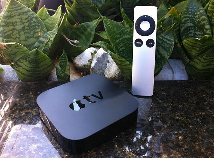 Apple TV: conheça atalhos do controle remoto que facilitam a vida (Foto: Marvin Costa/TechTudo)