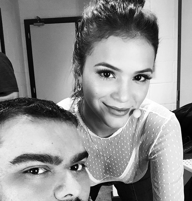 Everson Rocha e Bruna Marquezine (Foto: Reprodução/Instagram)
