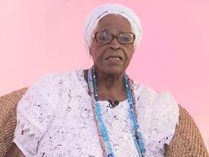Mãe Stella (Foto: Reprodução/TV Bahia)