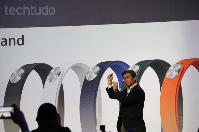 Coletiva da Sony na CES 2014 (Foto: Fabricio Vitorino/ TechTudo)
