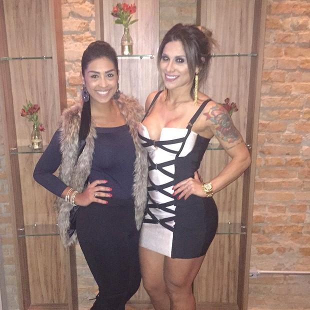 Amanda Djehdian e Vanessa Mesquita (Foto: Reprodução/Instagram)